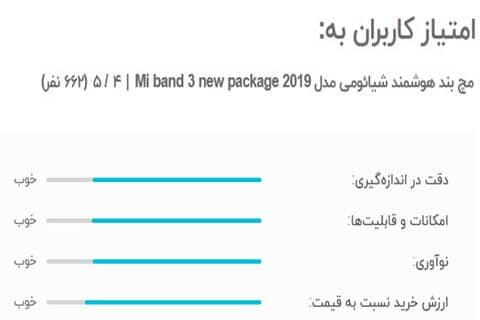 مچ بند هوشمند شیائومی مدل Mi band 3 new package 2019
