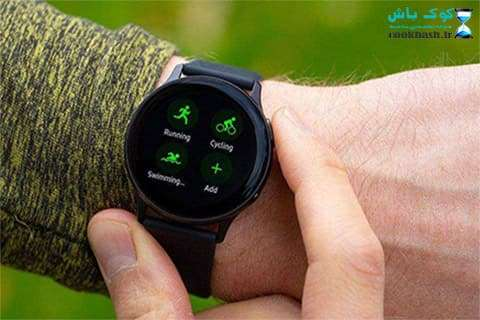 ساعت هوشمند Galaxy Watch Active2 44mm Leatherband Smart
