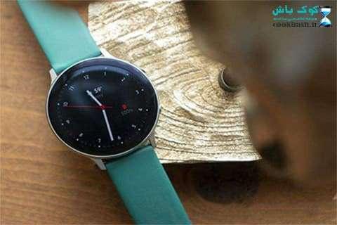 Galaxy Watch Active2 44mm Leatherband Smart Watch