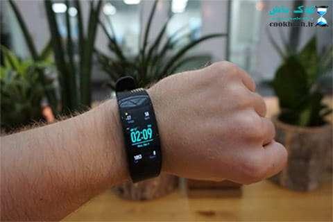 خرید مچ بند هوشمند Gear Fit 2 Pro Black