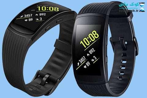 خرید مچ بند هوشمند سامسونگ Gear Fit 2 Pro Black