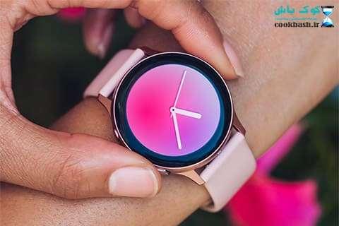 خرید ساعت مچی هوشمند Galaxy Watch Active2 40mm Leatherband Smart