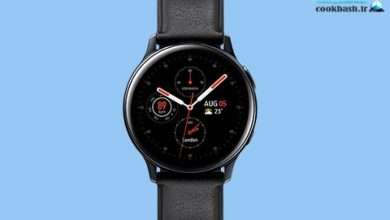 خرید ساعت هوشمند سامسونگ Galaxy Watch Active2 40mm Leatherband Smart