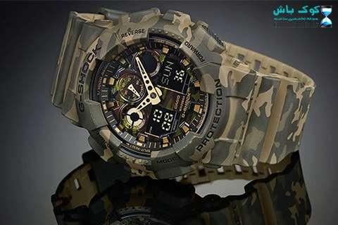 خرید ساعت کاسیو جی شاک ارتشی