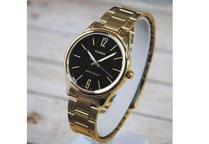 14- خرید ساعت مچی عقربه ای زنانه کاسیو مدل LTP-V005G-1B