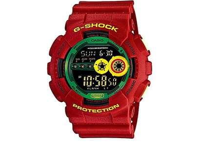 ساعت دیجیتالی جی شاک مدل GD-100RF-4DR