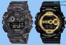 استفاده از ساعتهای دیجیتال جی شاک با توجه به کیفیت و قدرت دوام بالا و ظاهر بسیار شیک انتخاب عالی برای جوانان میباشد. اگر قصد خرید یک ساعت دیجیتال گرانقیمت و با امکانات و قابلیتهای بسیار کاربردی هستید ما به شما ساعت دیجیتالی جی شاک مردانه را پیشنهاد میکنیم. ساعتهای دیجیتال جی شاک زیرمجموعه برند معتبر کاسیو میباشد و با تولید انواع ساعتهای مختلف عقربهای و دیجیتالی توانسته محبوبیت و فروش بسیار بالایی را در جهان کسب کند. ابتدا برای فعالیتهای سخت و پرمشقت کارایی داشت. اما به مرور توانست با تغییر ظاهری بسیار بهتر و استفاده از ویژگیهای لوکس در ساعت دیجیتالی جی شاک, مورد توجه قشرهای مختلف مخصوصاً کسانی که به دنبال ساعتهای گران دیجیتالی هستند بشود. تنها دلیلی که میتواند انتخاب خرید را برای شما سخت کنید, مواردی مانند: قیمت – نیاز شما و سلیقه شما میباشد. در لیست زیر ما حدود 30 مدل ساعت خوب و باکیفیت را انتخاب کردیم و به شما پیشنهاد میکنیم که از بین همین مدلها یک ساعت مناسب باسلیقه و نیاز خود را انتخاب کنید و برای خرید اقدام کنید.