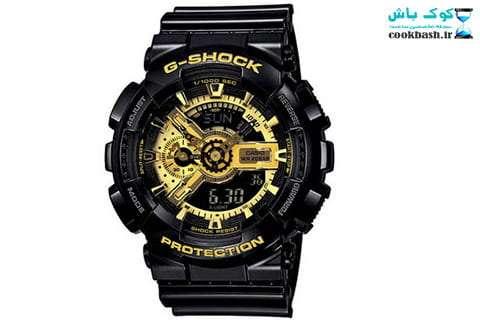 ساعت عقربه ای مردانه جی شاک کد GA-110GB-1A