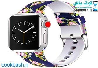 ساعت هوشمند گیفت کالکشن مدل IWO 7 Blue Rose