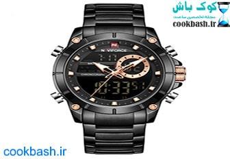 ساعت مچی دیجیتال مردانه نیوی فورس مدل NF9163 BB