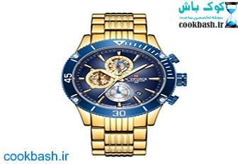 ساعت مچی عقربه ای مردانه نیوی فورس مدل NF9173 GBE