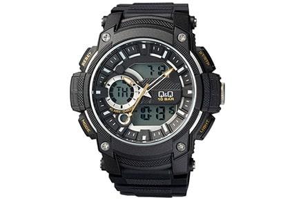 18- ساعت مچی دیجیتال مردانه کیو اند کیو مدل Gw90j004y