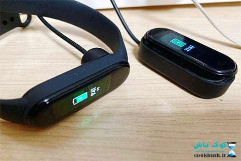 تفاوت باتری و شارژ مغناطیسی در مقایسه 4 و 5