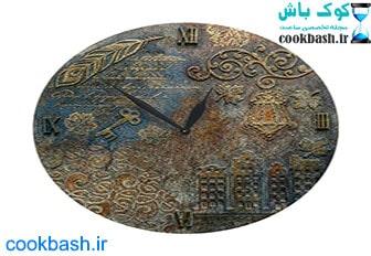 ساعت دیواری طرح آنتیک کد 1430