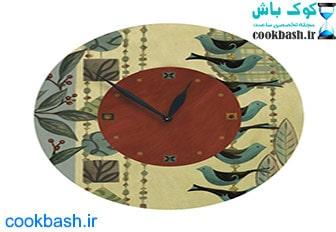 ساعت دیواری طرح آنتیک کد 690