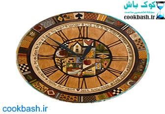 ساعت دیواری طرح آنتیک کد 1050