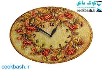 ساعت دیواری طرح آنتیک کد 1640