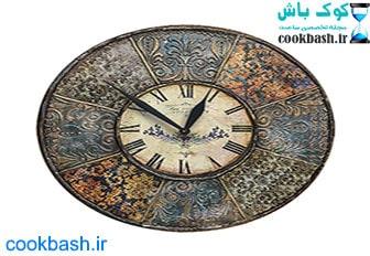 ساعت دیواری طرح آنتیک کد 1660
