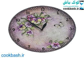 ساعت دیواری طرح آنتیک کد 1690
