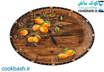 ساعت دیواری طرح آنتیک کد 1600