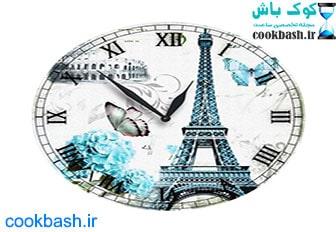ساعت دیواری طرح آنتیک کد 1800