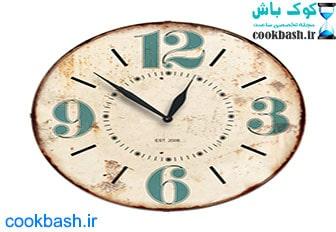 ساعت دیواری طرح آنتیک کد 1310