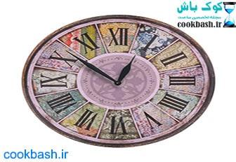 ساعت دیواری طرح آنتیک کد 1370