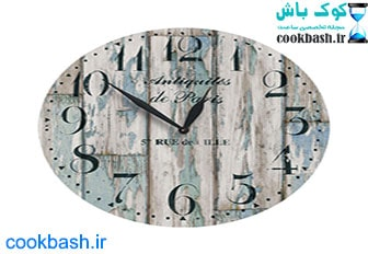 ساعت دیواری طرح آنتیک کد 1220