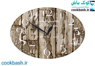ساعت دیواری طرح آنتیک کد 1210
