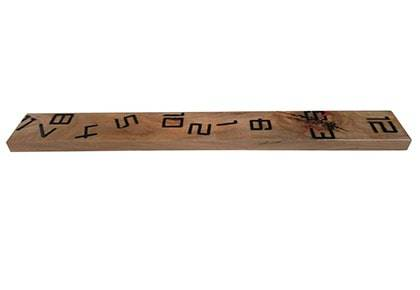 ساعت دیواری چوبی چوبیس کد 1_501