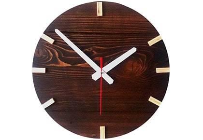 ساعت دیواری چوبی کد 013