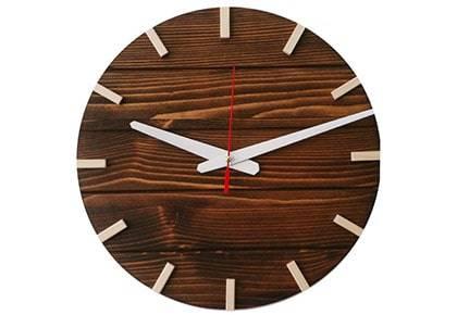 ساعت دیواری چوبی کد 05