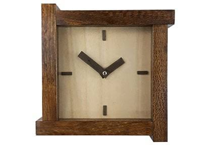 ساعت دیواری چوبی کد 026