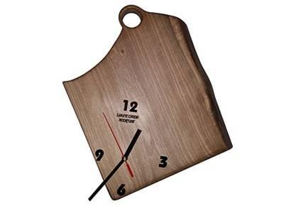 ساعت دیواری صنایع چوبی موریانه مدل ۰۶