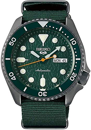 ساعت اتوماتیک Seiko 5 Avocado Automatic (SRPD77)