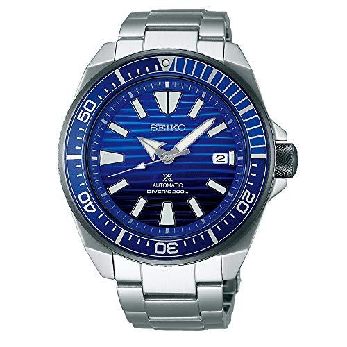 Seiko Prospex Samurai Wave Special Edition Watch Blue Dial (SRPC93K1)