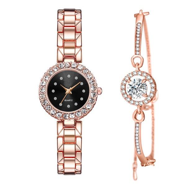 ست دستبند و ساعت مچی عقربه ای زنانه مدل cw-440