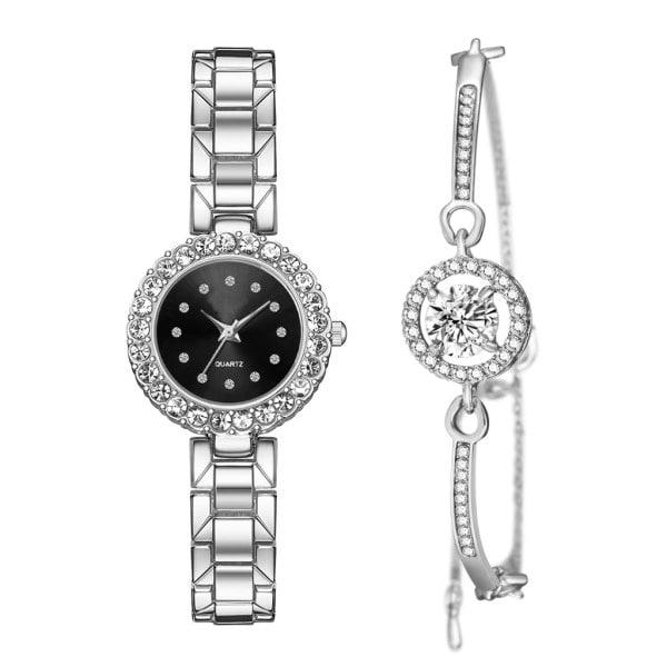 ست دستبند و ساعت مچی عقربه ای زنانه مدل cw-435