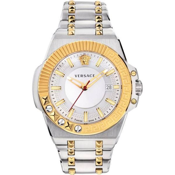 ست ساعت عقربه ای و دستبند مردانه ورساچه مدل VEDY005 19
